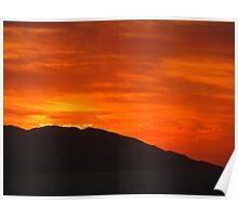 Sierra Madre Sunset - Puesta del Sol Poster