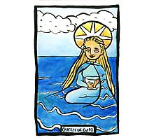 Queen of Cups Photographic Print