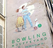 vintage bowling couple in paris by offpeaktraveler