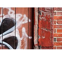 Urban Triptych Photographic Print
