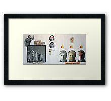 JOAN VOLLMER'S REVENGE AGAINST BILL Framed Print