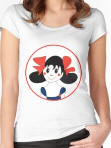 Happy Girl Women's Fitted Scoop T-Shirt