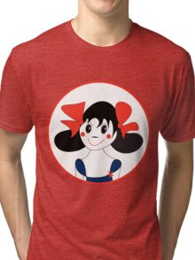 Happy Girl Tri-blend T-Shirt