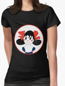 Happy Girl Womens Fitted T-Shirt