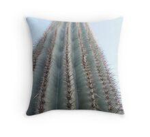 Saguaro ribs Throw Pillow