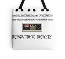 Backwards and Forwards and UPSIDE DOWN Tote Bag
