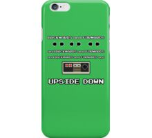 Backwards and Forwards and UPSIDE DOWN iPhone Case/Skin