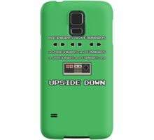 Backwards and Forwards and UPSIDE DOWN Samsung Galaxy Case/Skin