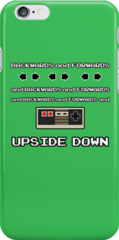 Backwards and Forwards and UPSIDE DOWN by dubart