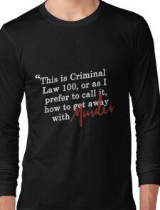 HTGAWM {FULL} Long Sleeve T-Shirt