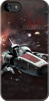 Battlestar Galactica iphone Cover by Chris Cardwell