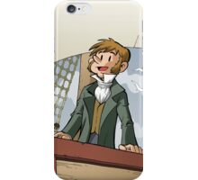 Darwin Comic Cover iPhone Case/Skin