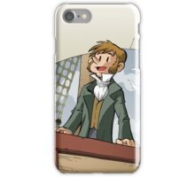 Darwin Comic Cover iPhone Case/Skin
