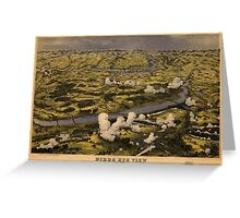 Civil War Battle of Chickahominy River June 27 1862 Greeting Card