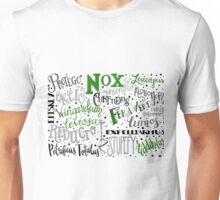 Spells & Charms-Green Unisex T-Shirt