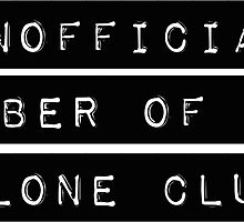 Unofficial Member of The Clone Club by goldblooded2