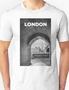 Big ben and bridge Unisex T-Shirt