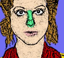Gilda Radner SNL Sticker