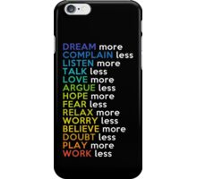 14 Easy Ways to Survive Life iPhone Case/Skin