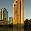 Boston: Prudential and 111 Huntington Ave by Kasia-D