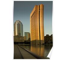 Boston: Prudential and 111 Huntington Ave Poster