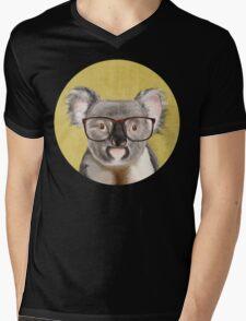 Mr Koala Mens V-Neck T-Shirt