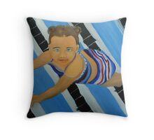 Emily the little mermaid Throw Pillow