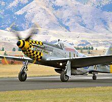 P51 Mustang by Pete  Burton