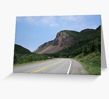 Cabot Strait Half Dome Greeting Card