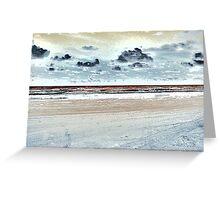 Surrealistic Seascape IX Greeting Card