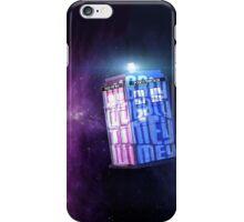 Wibbly Wobbly Tardis iPhone Case/Skin