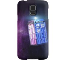 Wibbly Wobbly Tardis Samsung Galaxy Case/Skin