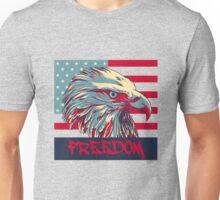 American Flag Freedom Eagle Unisex T-Shirt