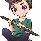 Chibi Rob Sticker by ReplayComic