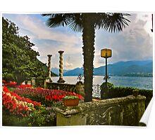 """""""Villa De Este"""" Lake Como, Italy Poster"""