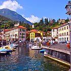 """Town Of Menaggio"" Lake Como, Italy by AlexandraZloto"