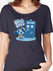 Who's Clues Women's Relaxed Fit T-Shirt