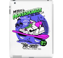 Hoverboards Back To The Future iPad Case/Skin