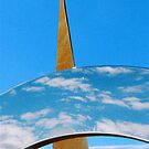 Clouds, Sky and Sculpture. by Malcolm Clark