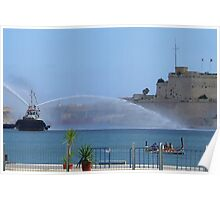 Fregatina and Waterboat Poster