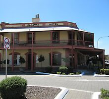 'RAILWAY HOTEL' built in 1858, Port Adelaide, South Australia. by Rita Blom