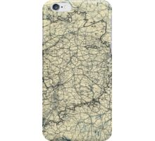 April 20 1945 World War II Twelfth Army Group Situation Map iPhone Case/Skin