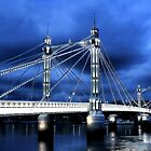 Albert Bridge, London by Jasna