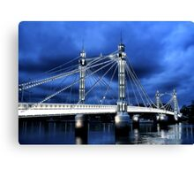 Albert Bridge, London Canvas Print