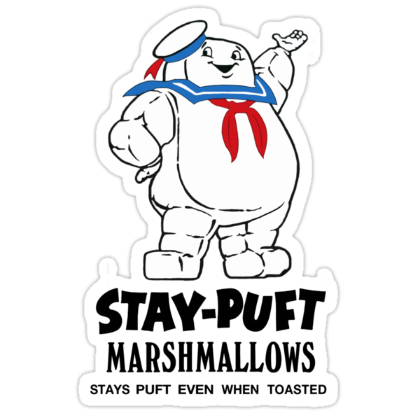 Stay-Puft Marshmallows by BadReplicant