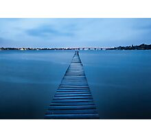 Walk the Plank - Sylvania, NSW Photographic Print