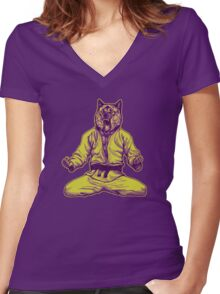 Martial Arts - Way of life #5 Women's Fitted V-Neck T-Shirt