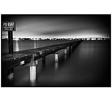 Take a Long Walk - Sylvania, NSW Photographic Print