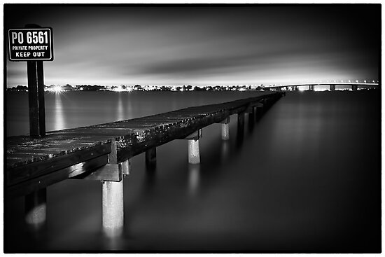 Take a Long Walk - Sylvania, NSW by Malcolm Katon