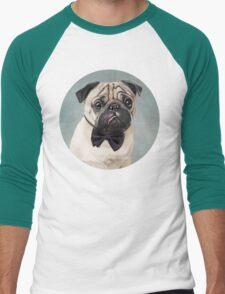 Mr Pug Men's Baseball ¾ T-Shirt